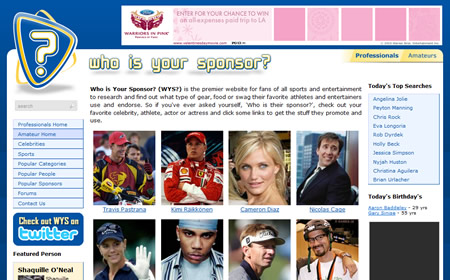 Who Is Your Sponsor